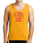 Awesome Child and Papa Mens Tank Top Family Father Daddy Tanks for Men - 1429C