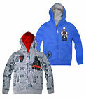 Boys Star Wars Zip Front Hooded Sweatshirt New Kids Tracksuit Top Ages 6-12 Yrs