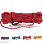 10.5mm Outdoor Safety Rope Climbing Rappelling Rescue Fire Escape Equipment