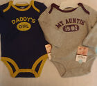 CARTERS baby girls 3 or 6 month Choice Bodysuit NWT Long Sleeves