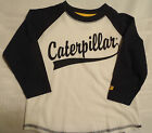 CATERPILLAR CAT 2T White/Navy  Shirt NWT Cotton