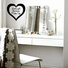 Make-up, Just a girl who loves, beauty, cosmetics WALL ART DECAL VINYL STICKER