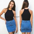 Fashion Womens Loose Pullover T Shirt Short Sleeve Cotton Tops Shirt Blouse 8HOT