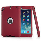 SHOCKPROOF HEAVY DUTY RUBBER HARD CASE COVER FOR APPLE IPAD 234/MINI /AIR /PRO
