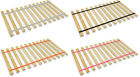 FULL SIZE CUSTOM WIDTH COLORED STRAPS WOOD BED SLATS SUPPORT BOARD PLATFORM
