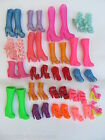 10 or 20 QUALITY BARBIE DOLLS SIZED SILICONE SHOES BOOTS HEELS UKSELLER FREE P&P