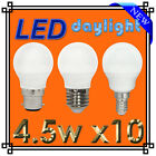 4X 4.5W LED GOLF BULBS DAYLIGHT LIGHT BAYONET SCREW CAP BC SES - NEW