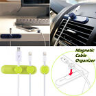 Desktop Management Magnetic Cable Cord Wire Clips Organizer Holder