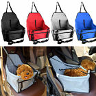 2017 Folding Dog Travel Booster Bag Puppy Pet Car Seat Carrier Safety Belt Cover