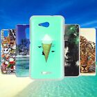 Silicone Cartoon Soft High Quality TPU Protective Back Case Cover For Alcatel