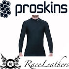 PROSKINS BLACK MOTORCYCLE MOTORBIKE COMPRESSION TOP LONG SLEEVE SHIRT BASE LAYER