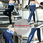 spp18 Wommens Skin Compression Tights Full Length Ladies Sports Gym Yoga Running
