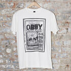 Obey Savage Posse Casual Short Sleeve T-Shirt New White- Size S,XL.