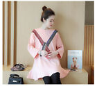 New Arrival Autumn Spring  Maternity Dress Long Sleeve Stripe Sequin Fashion