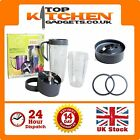 NutriBullet Parts ✰ Spares Gaskets Seals Cups Flat Extractor Cross Blades Magic