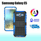 Case Cover For Samsung Galaxy E5 TPU Shockproof Heavy Duty With Kickstand