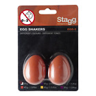 Stagg Egg Shakers in Orange (Pack of 2) 40g