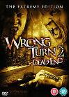 Wrong Turn 2 - Dead End (DVD, 2008) THE EXTREME EDITION