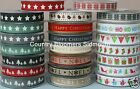 More of Berisfords Christmas Ribbons ~  1 or 3 Metres & Full Rolls ~