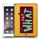 HEAD CASE DESIGNS JUST SAYIN HARD BACK CASE FOR APPLE iPAD