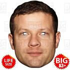 DERMOT O'LEARY - BIG Celebrity Face Mask BIG A3 or LIFE-SIZE - X FACTOR COWELL