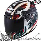 SUOMY APEX PIKE BLUE FULL FACE MOTORCYCLE MOTORBIKE HELMET
