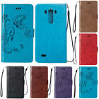 Luxury Magnetic Soft Leather Card Wallet Kickstand Case Skin Cover For LG K7 K10