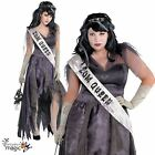 Adult Homecoming Corpse Queen Fancy Dress Costume Halloween Outfit Party Ladies