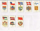 PLAYERS NATIONAL FLAGS AND ARMS 1936 HOME ISSUE INDIVIDUAL CARDS