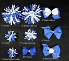 Kentucky Wildcats Themed Korkers Classic Layered Toddler Hair bows UPICK
