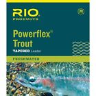 Fresh Rio Powerflex Trout Tapered Leader 9 foot
