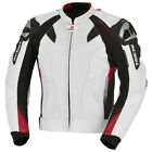 Taichi GM-X Motion Vented Leather Jacket White/Red