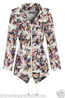 Plus Size 18 20 22 24 NEW RAIN MAC Ladies PARKA Shower Womens RAINCOAT Festival