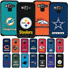 Official NFL Shockproof Armor Case + Tempered Glass for Samsung Galaxy J7 2015