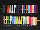 "5 Pack of 1.75"" Pre Lined Alligator Clips UPICK (33 Colors)"
