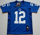 ANDREW LUCK #12 INDIANAPOLIS COLTS REPLICA JERSEY YOUTH S L XL BLUE NWT NFL TEAM $29.99 USD on eBay