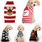 Внешний вид - Pet Dog Christmas Sweater Puppy Cat Winter Clothes Striped knitwear Coat Apparel