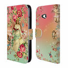 OFFICIAL MARK ASHKENAZI FLORALS LEATHER BOOK CASE FOR MICROSOFT NOKIA PHONES