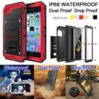 Original Luphie Waterproof Gorilla Glass Metal Case Cover f iPhone 6 6s 7 7 Plus