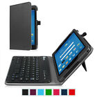 "Bluetooth Keyboard Case Folio Stand Cover for AT&T Trek 2 HD 8"" ( Model 6461A)"
