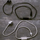 Black/ White Starter Plug with 1.5m Lead Cable for Lights4fun PRO Series Lights