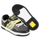 HEELYS FLOW SHOES - Black / Grey / Yellow + FREE DELIVERY + HOW TO DVD