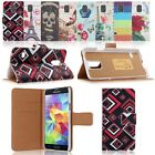 Flip Leather Card Pocket Wallet Case Cover Stand Skin For Samsung Galaxy S5 G900