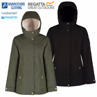 Regatta Heritage Womens Ladies Brodiaea Waterproof Jacket Fleece Lined Raincoat