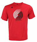 Adidas NBA Men's Portland Trail Blazers Ultra Lightweight Graphic Tee, Red on eBay