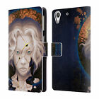 OFFICIAL DANIEL CONWAY SURREAL PORTRAITS LEATHER BOOK CASE FOR HTC PHONES 2