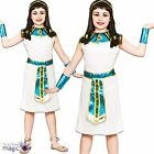 Girls Egyptian Queen Princess Cleopatra Ancient Egypt Fancy Dress Costume Outfit