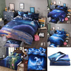 3d Mysterious Boundless Galaxy Colorful Outer Space Bedding Set Duvet Cover