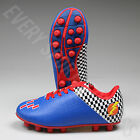 prix youth soccer cleats blue red new