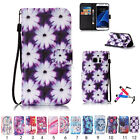 New 2016 Leather Wallet Card Holder Case Cover For Samsung &Huawei P9lite LG K7